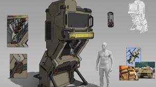 世界技能大赛科幻道具设计